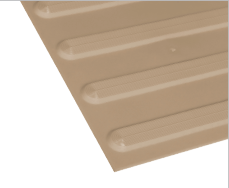 Poly - Hazard Directional Beige