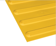 Poly - Hazard Directional Yellow