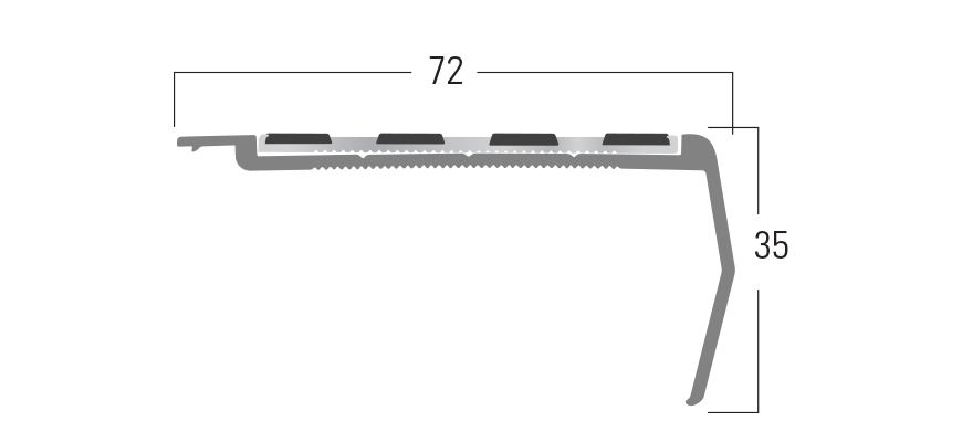 100 Series - Smn 111 end profile