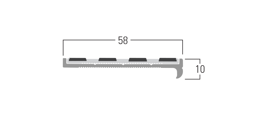 100 Series - Smn 113 end profile