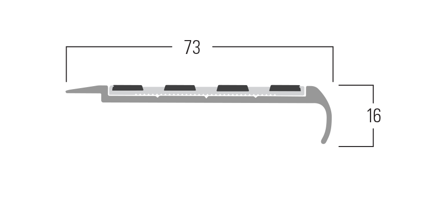 100 Series - Smn 117 end profile