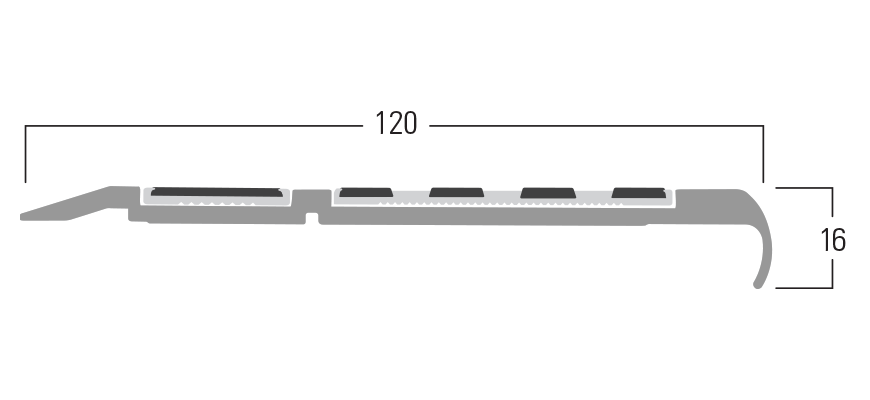 100 Series - Smn 119 end profile
