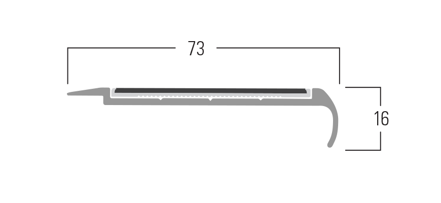 200 Series - Smn 217 end profile