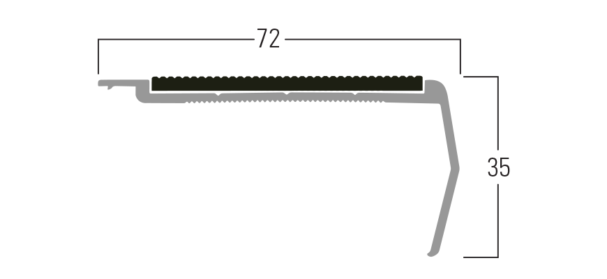 300 Series - Smn 311 end profile