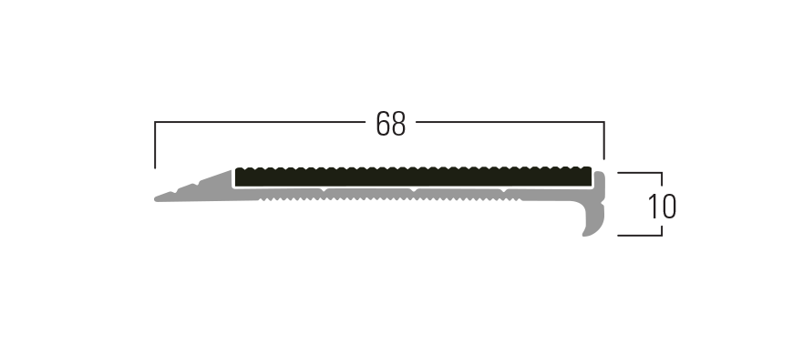 300 Series - Smn 312 end profile