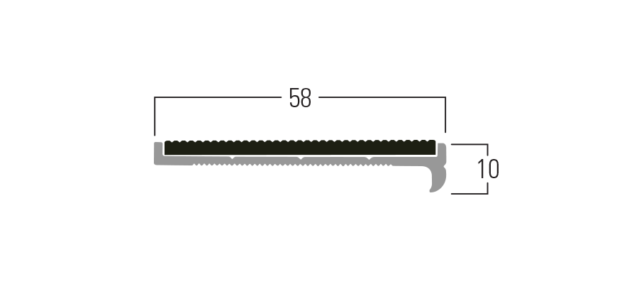 300 Series - Smn 313 end profile