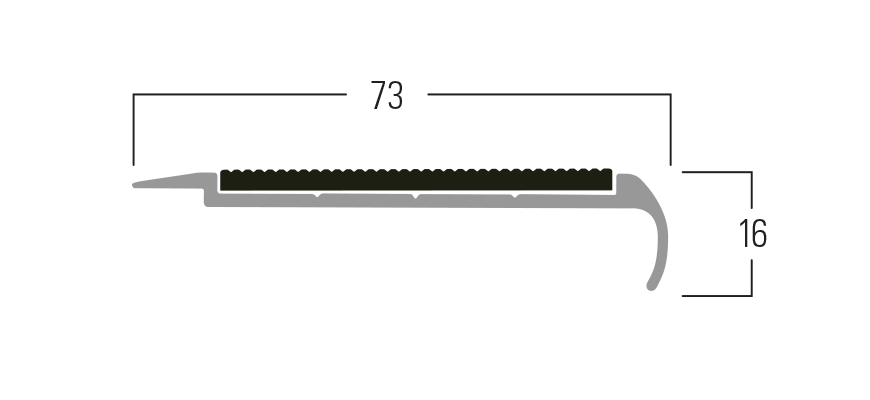 300 Series - Smn 317 end profile