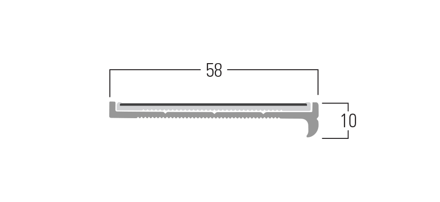 400 Series - Smn 413 end profile