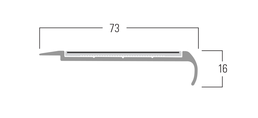 400 Series - Smn 417 end profile