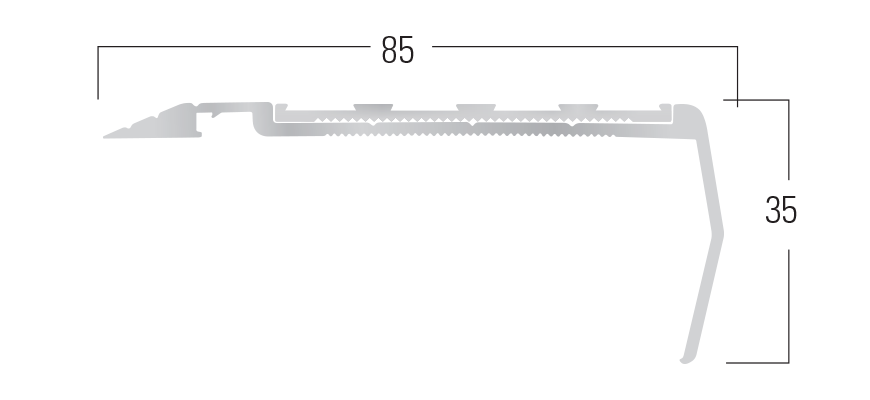 900 Series - Smn 910 end profile