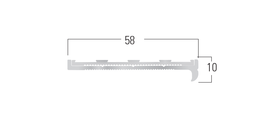 900 Series - Smn 913 end profile