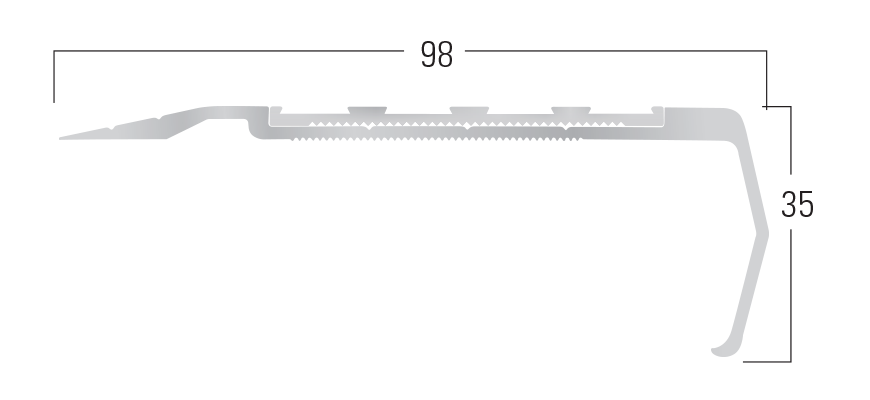900 Series - Smn 915 end profile