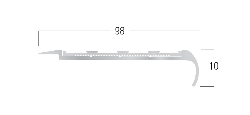 900 Series - Smn 917 end profile