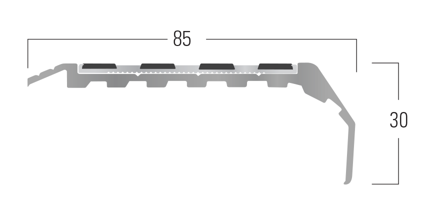 100 Series - Smn 114 end profile