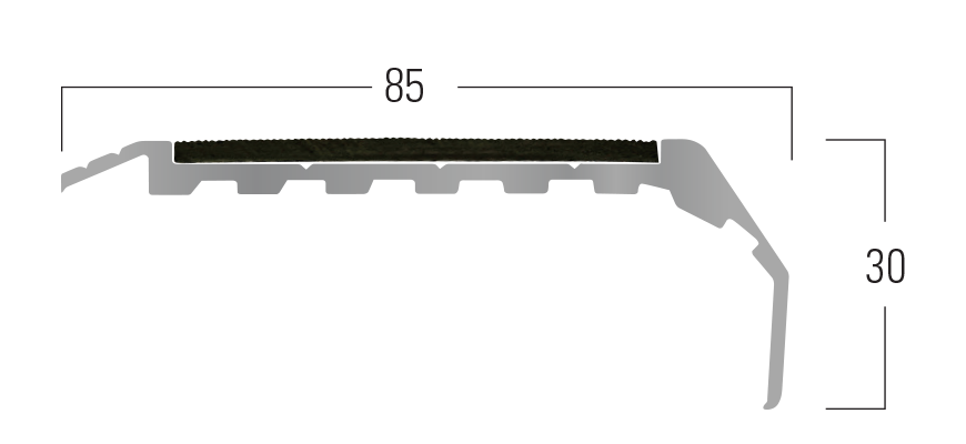 300 Series - Smn 314 end profile