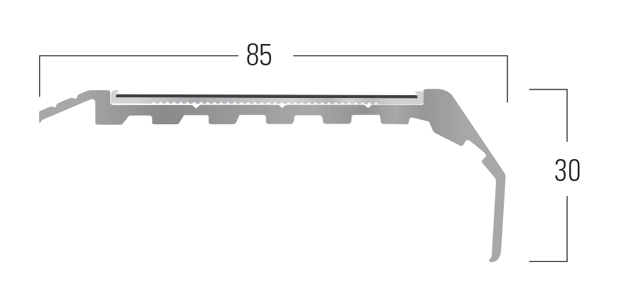 400 Series - Smn 414 end profile