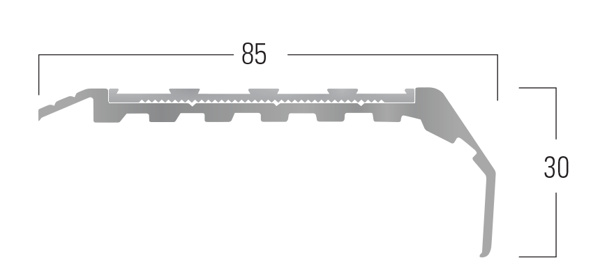 900 Series - Smn 914 end profile