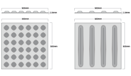 Poly Tile Profiles