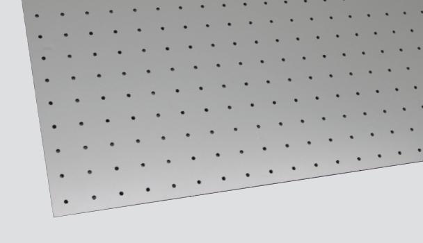 Rigid panel / 1200 x 600mm / Pin Back Stud Template -TEMP PB