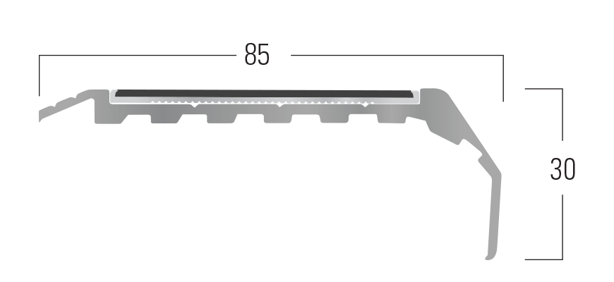 200 Series - Smn 214 end profile